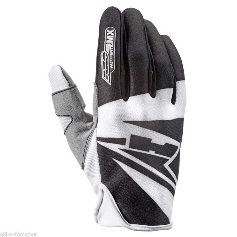 Axo SX Motocross Gloves XL Black White