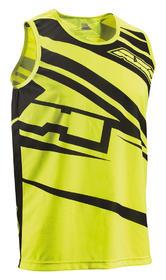 Axo SR Motocross Tank Top S Black Yellow