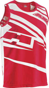 Axo SR Motocross Tank Top M White Red