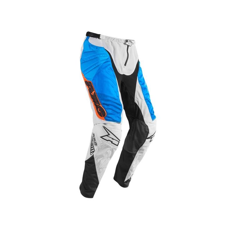 Axo Prisma Motocross Pants 46 White Blue Orange (UK 30)