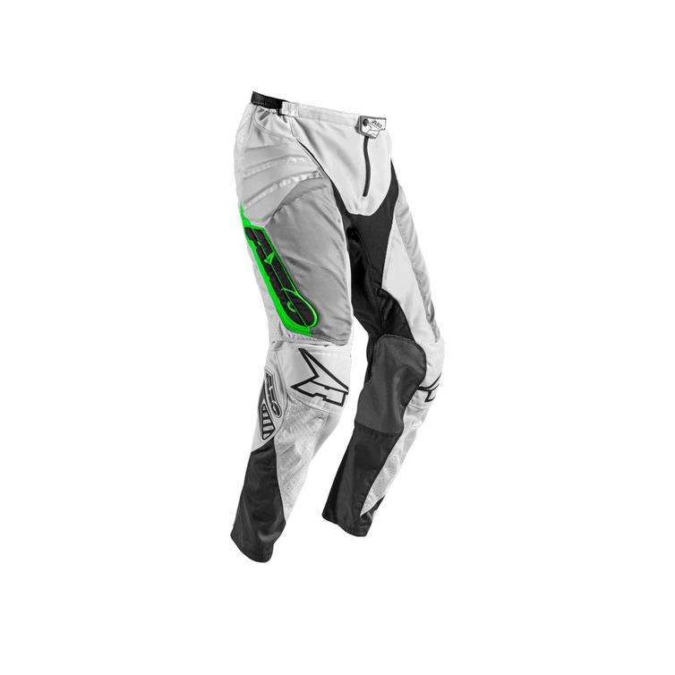 Axo Prisma Motocross Pants 44 White Grey Green (UK 28)