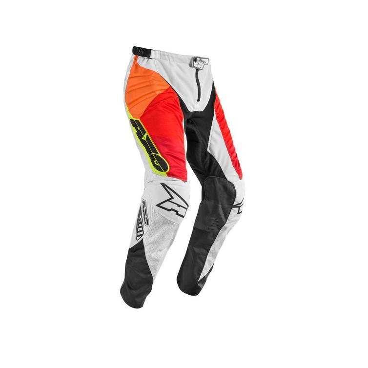 Axo Prisma Motocross Pants 44 White Red Yellow (UK 28)