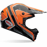 Bell SX-1 Race Motocross Helmet XS Orange