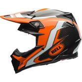Bell Moto-9 Flex Factory Motocross Helmet XS Orange Black