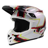 Bell Moto-9 Pace Motocross Helmet S Black White
