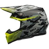 Bell Moto-9 Yellow Camo Motocross Helmet XXL Yellow Camo