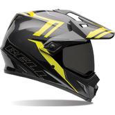 Bell MX-9 Adventure Barricade Dual Sport Helmet XS Hi-Vis