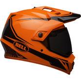Bell MX-9 Adventure MIPS Torch Dual Sport Helmet M Hi-Viz Orange Black