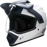 Bell MX-9 Adventure Motocross Helmet XS Solid White