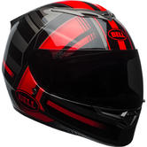 Bell RS-2 Tactical Motorcycle Helmet XS Red Black Titanium