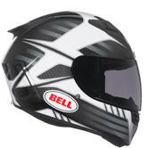 Bell Star Carbon Pinned Motorcycle Helmet L Matt Black Silver