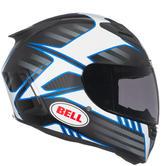 Bell Star Carbon Pinned Motorcycle Helmet M Matt Black Blue