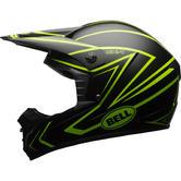Bell SX-1 Whip Motocross Helmet S Matte Black Hi-Viz Yellow