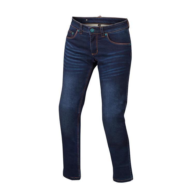 Bering Ladies Donovan Motorcycle Jeans 42 Blue (UK 14)