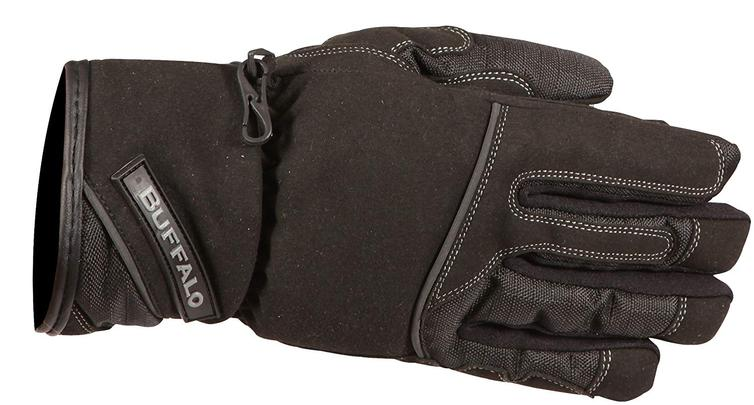 Buffalo Jade Ladies Motorcycle Gloves L Black