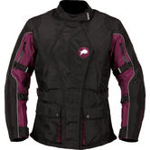 Buffalo Siena Ladies Motorcycle Jacket 10 Black Purple