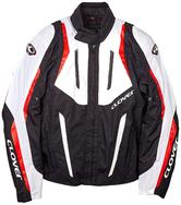 Clover Airblade 2 Motorcycle Jacket XL White Red