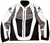 Clover Airjet 4 Motorcycle Jacket S Black Grey White