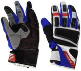 Clover GTS Motorcycle Gloves M Black Blue