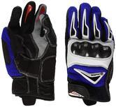 Clover Raptor 2 Motorcycle Gloves L Blue White
