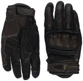 Clover KVS Leather Motorcycle Gloves XL Brown
