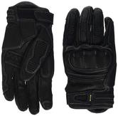 Clover KVS Leather Motorcycle Gloves L Black