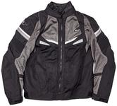Clover Rainjet Motorcycle Jacket XL Black