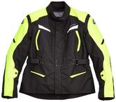 Clover Storm 2 Motorcycle Jacket XXL Black Yellow
