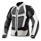 Clover Ventouring 2 Airbag Ready Motorcycle Jacket M Black Grey