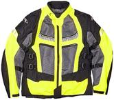 Clover Ventouring 2 Airbag Ready Motorcycle Jacket XXL Black Yellow