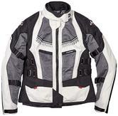 Clover Ventouring 2 Airbag Ready Ladies Motorcycle Jacket S Black Grey