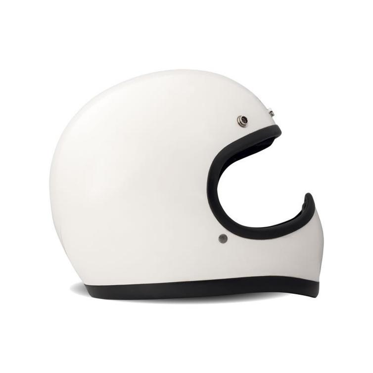 DMD Racer Full Face Motorcycle Helmet 2XL White