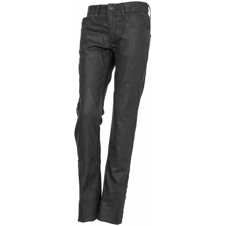 Esquad Silva Ladies' Motorcycle Jeans UK 28 Oil Grey