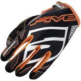 Five MXF Pro Rider S Motocross Gloves XXL Black Fluo Orange