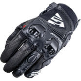 Five SF2 Leather Motorcycle Gloves L Black