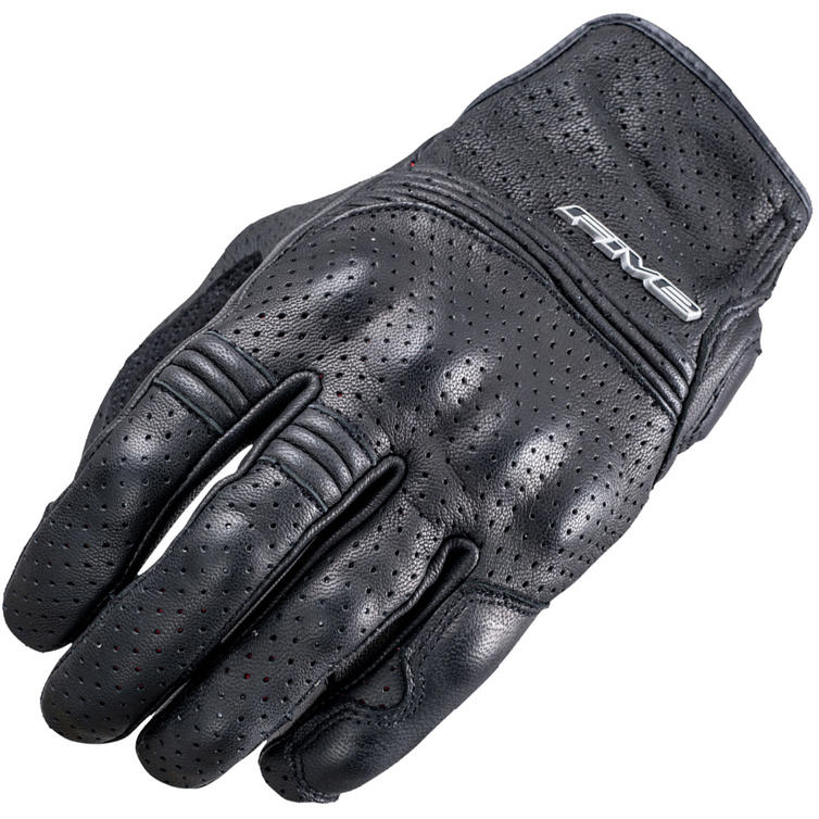 Five Sport City Leather Motorcycle Gloves 3XL Black