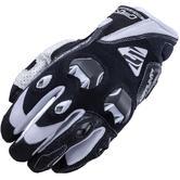 Five Stunt Evo Motorcycle Gloves M Black White