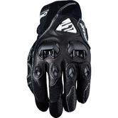 Five Stunt Evo Leather Motorcycle Gloves L Black