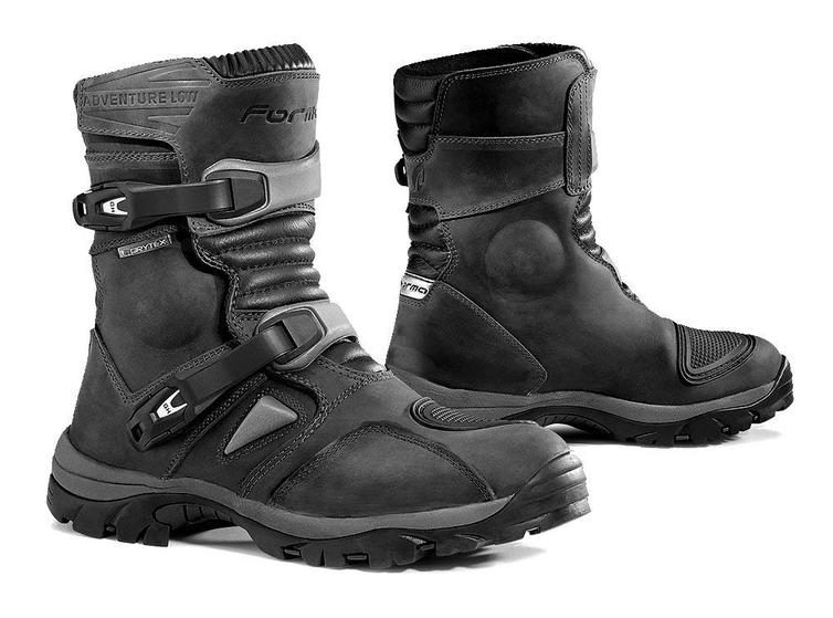 Forma Adventure Low Leather Motorcycle Boots 47 Black (UK 12.5)