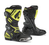 Forma Ice Pro Motorcycle Boots 43 Black Neon Yellow (UK 9)