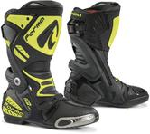 Forma Ice Pro Motorcycle Boots 46 Black Neon Yellow (UK 12)