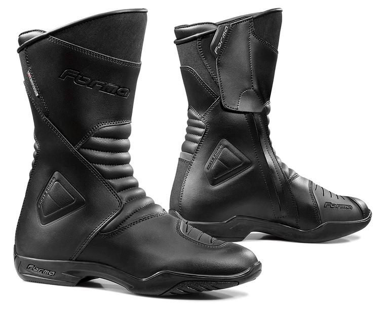 Forma Majestic Leather Motorcycle Boots 40 Black (UK 6)