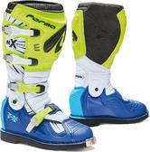 Forma Terrain TX Motocross Boots 42 Neon Yellow White Blue (UK 8)