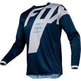 Fox Racing 180 Mastar Motocross Jersey L Navy