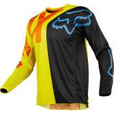 Fox Racing 360 Preme Motocross Jersey L Black Yellow