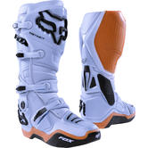 Fox Racing Instinct Motocross Boots US 8 Light Grey (UK 7)