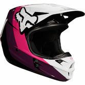 Fox V1 Halyn Ladies Motocross Helmet S Black Pink