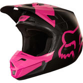 Fox Racing V2 Mastar Motocross Helmet M Black