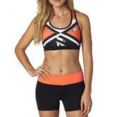 Fox Racing Ladies Divizion Tech Sports Tank Top Flo XS Orange