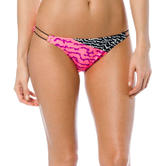 Fox Racing Ladies Refraction Swimsuit Bottoms L Melon